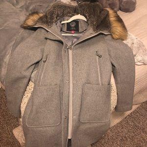Wool winter coat